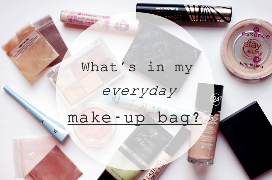 What's in My Everyday Make-up Bag""