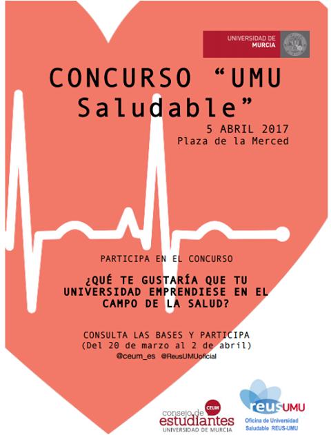 "concurso ""UMU saludable"""