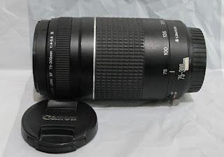 Jual Lensa 75-300mm USM III untuk Canon