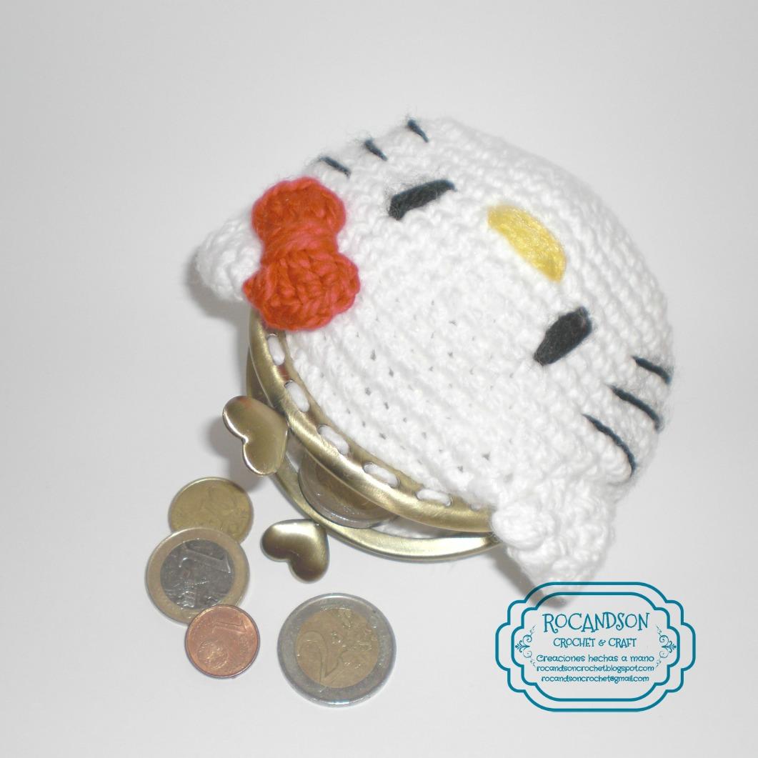 Rodesign Patron Monedero Hello Kitty - Monedero-crochet-patron