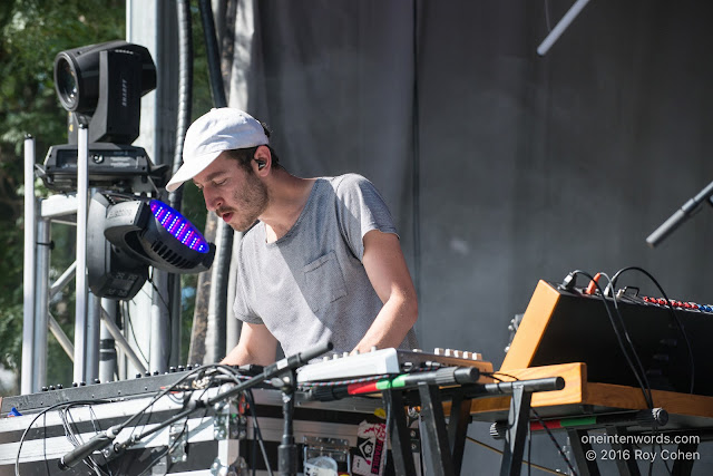 Chrome Sparks at Time Festival, August 6, 2016 Photo by Roy Cohen for One In Ten Words oneintenwords.com toronto indie alternative live music blog concert photography pictures