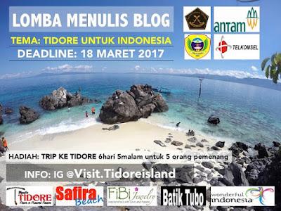 Informasi Lomba Blog Visit Tidore