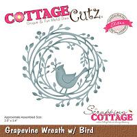 http://www.scrappingcottage.com/cottagecutzgrapevinewreathwbirdelites.aspx