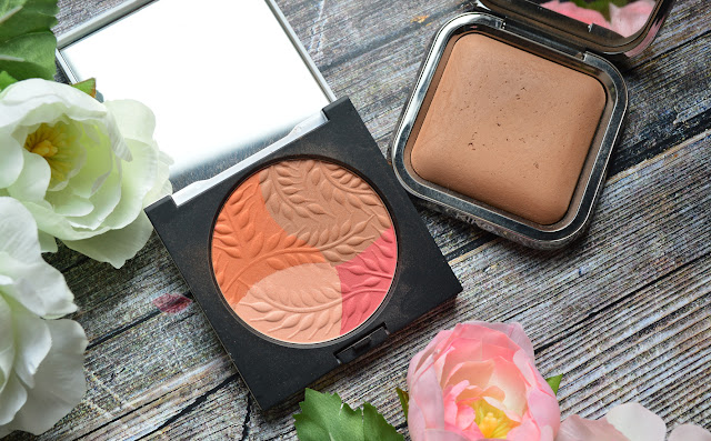 Multicolor Orange Blush Cruise Collection di Diego Dalla Palma e Radiant Fusion Baked Powder 05 Nocciola di Kiko