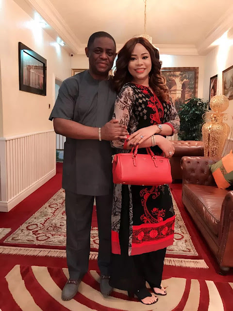 Fani Kayode pens lovely poem to his beauty queen wife