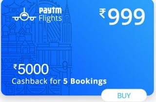 Paytm Flight Offers