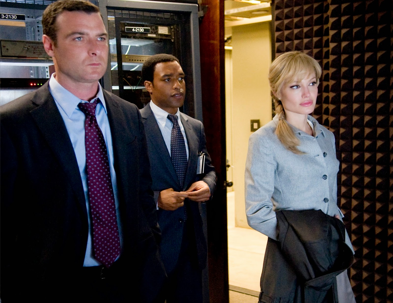 Salt: Liev Schreiber, Chiwetel Ejiofor and Angelina Jolie | A Constantly Racing Mind