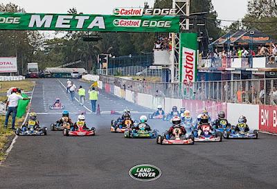 Resultados de la primera fecha del Campeonato Nacional de Karts 2018