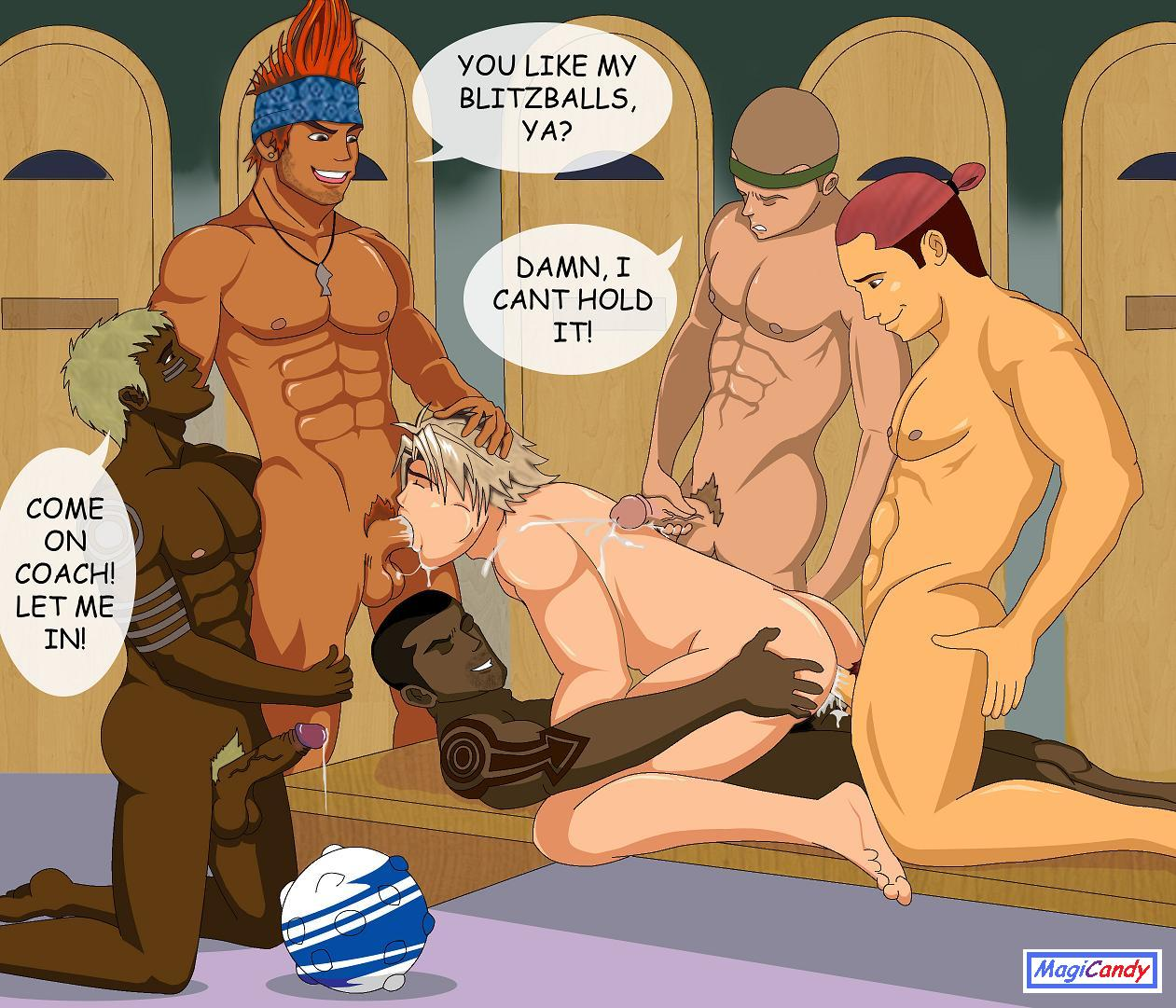 Gay fantasy comics