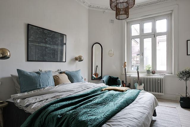 Lovely and elegant scandinavian interior
