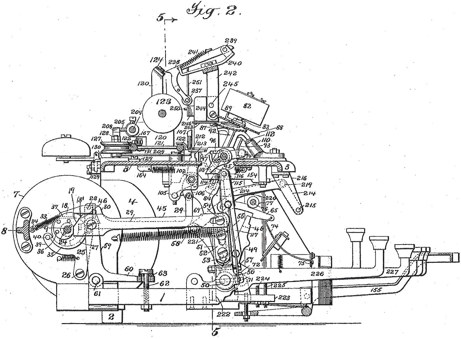Oztypewriter Future Shock How Blickensderfer Developed His Mad Max Engine Diagram Electric Typewriter