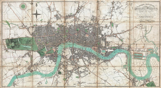 London old maps