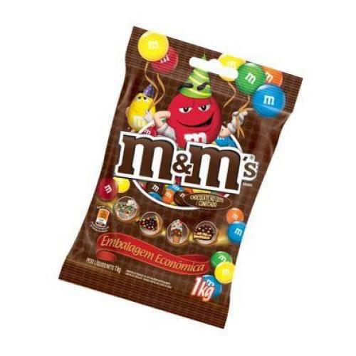 Lojas AmericanasMm Confeito Chocolate 1kg Mars