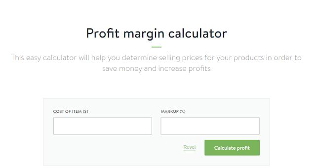 Shopify profit margin calculator