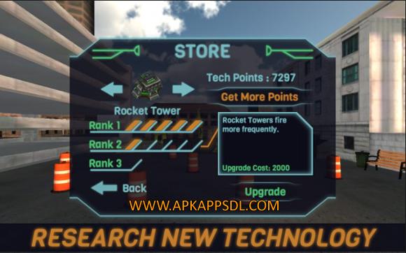 Download Four Days World Defense Mod Apk v1.2.2 Android Full Terbaru 2017 Free Download