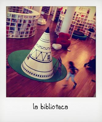L'area bimbi della biblioteca di Amsterdam