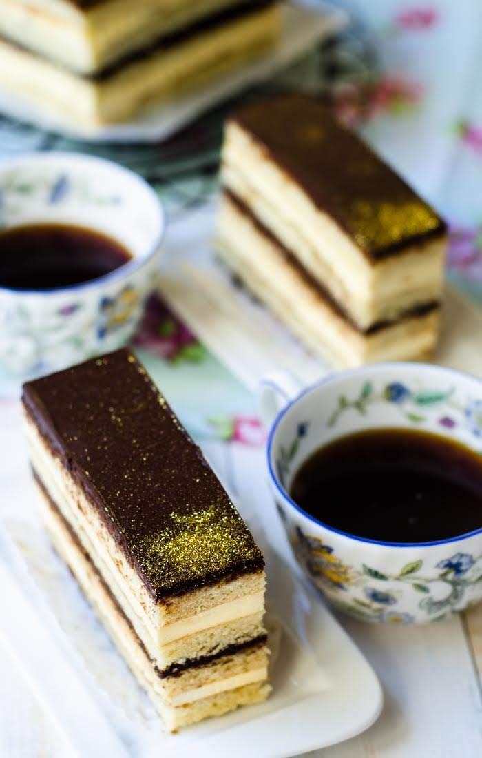 Opera Cake Lisa S Lemony Kitchen