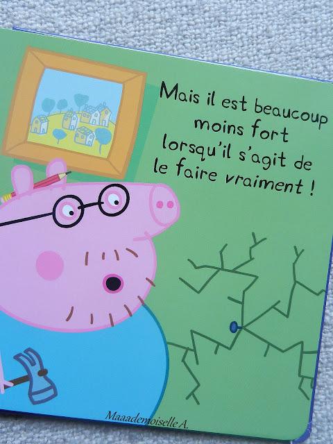 || Peppa Pig : Mon papa (Présentation & Avis)(Chut, les enfants lisent #19)