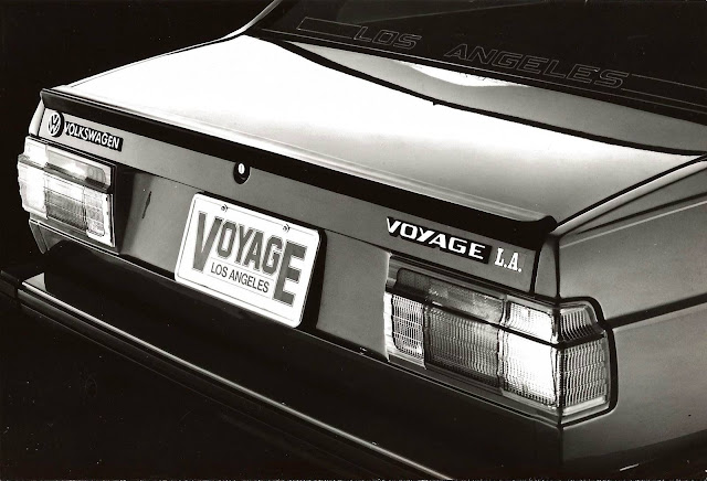 VW Voyage Los Angeles 1984