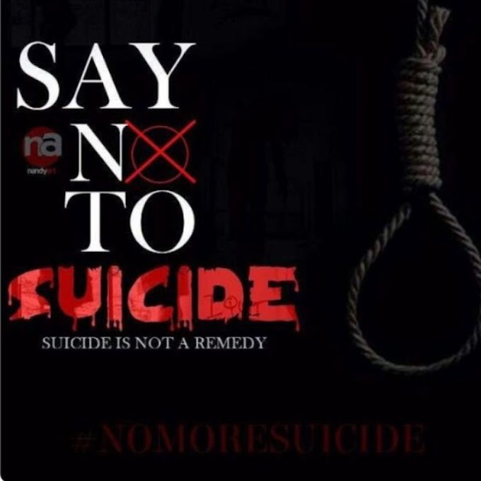 Sebastian Appiah writes: Suicide Is Not The Answer. Part 4