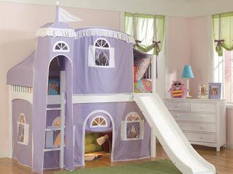 Castillo para habitación infantil