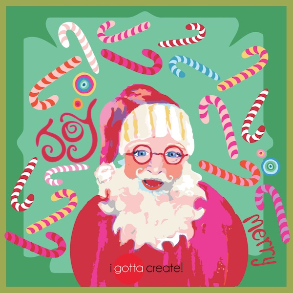 Santa's Ready (c) by I Gotta Create! is available for licensing.