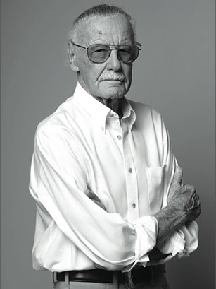 man with black hat: Stan Lee Explains It All For You