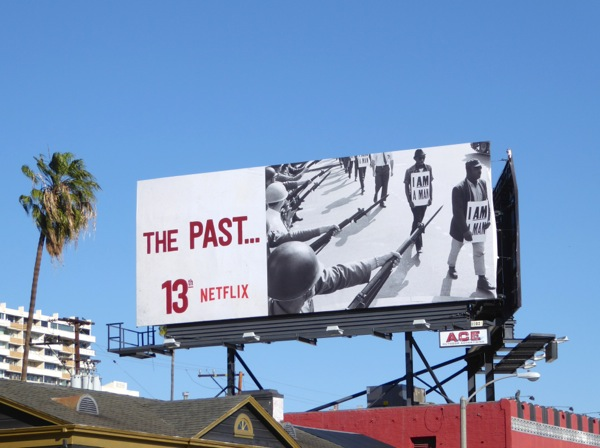 The Past 13th Netflix documentary billboard