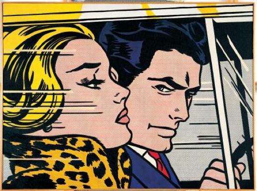 lichtenstein comic art pinterest roy lichtenstein un baiser et pop art. Black Bedroom Furniture Sets. Home Design Ideas