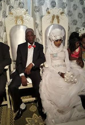 is this peadophilia as 60 year old man marries 14 year old girl