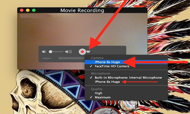 Record an iPhone/iPad Screen on Mac OS X with QuickTime
