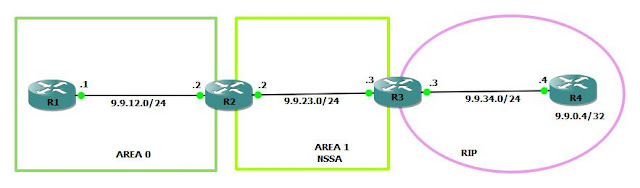 OSPF Forward Address Concept in NSSA