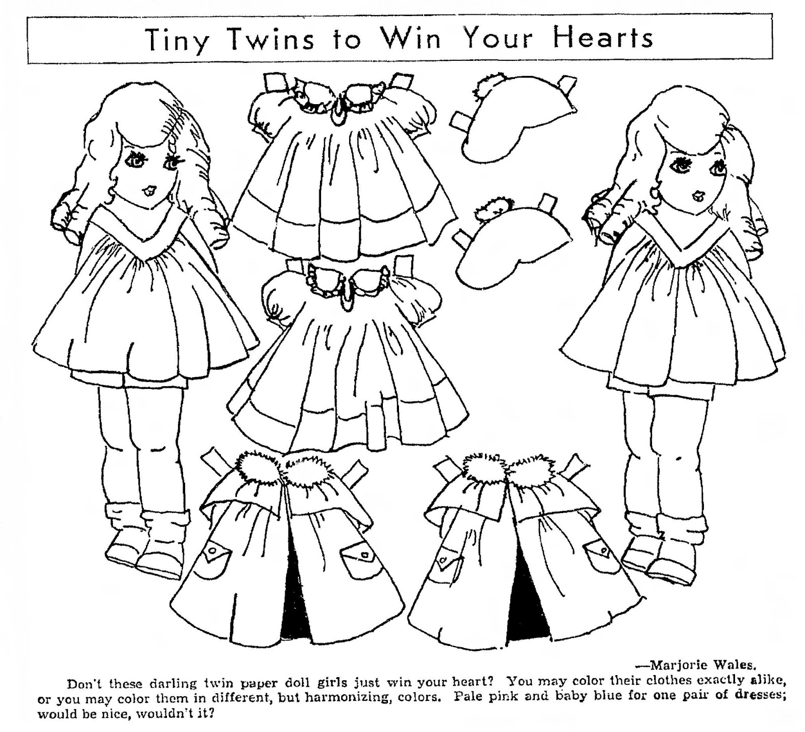 Mostly Paper Dolls Too!: March 2013