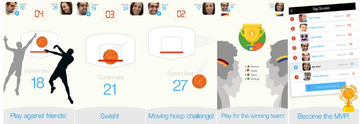 apple apps basketball free throw