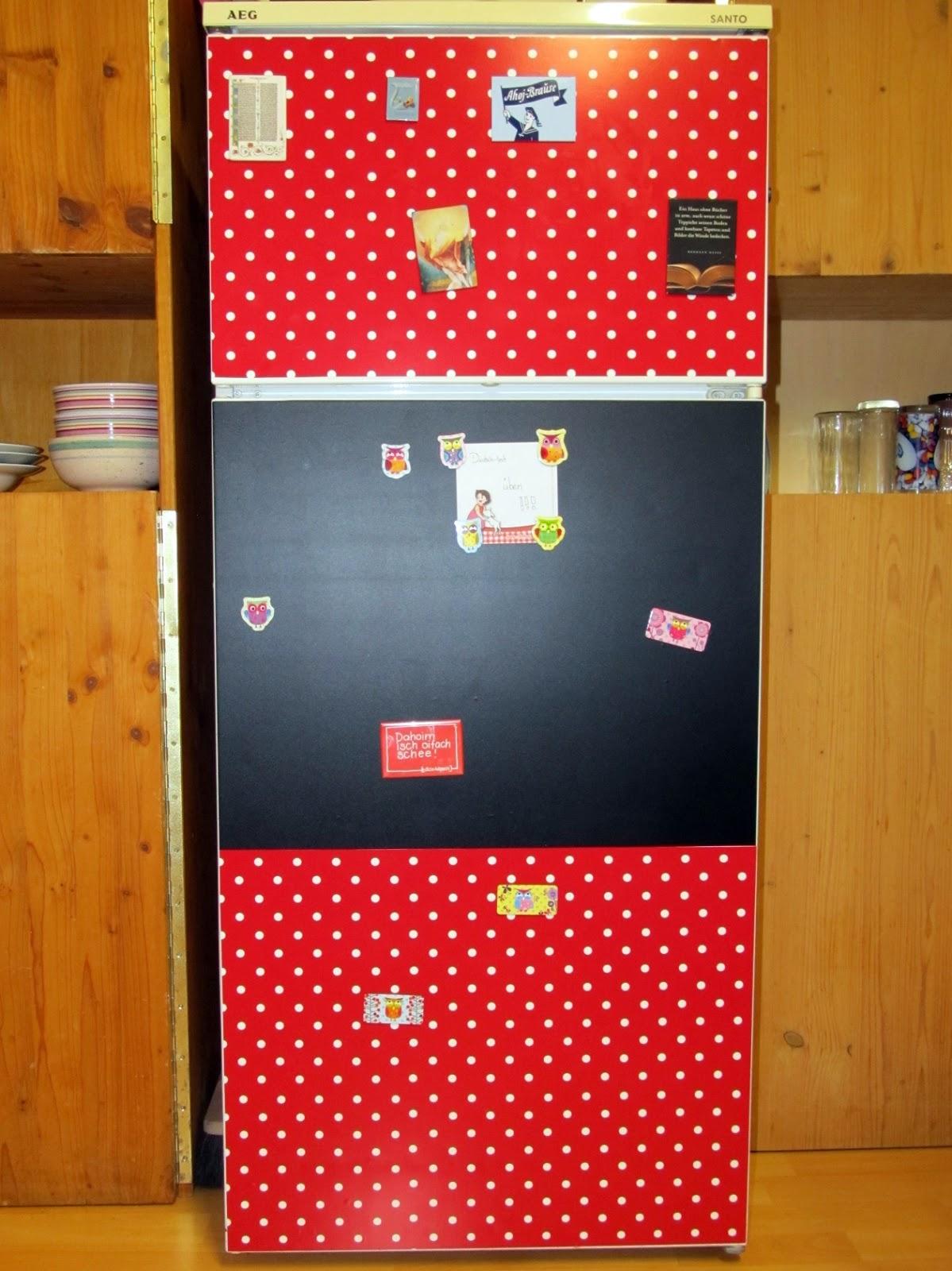 Nachbarzwergs Stoffgarten Designer Kühlschrank
