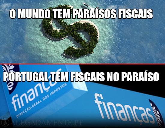 Imagem de Offshores e Repartição das Finanças – O Mundo tem os Paraísos Fiscais - Portugal tem os Fiscais no Paraíso