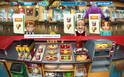 Download Cooking Fever Mod Apk offline installer