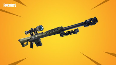 Heavy Sniper Rifle Added To Fortnite Battle Royale in New Update