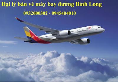Địa chỉ liên hệ mua vé máy bay đường Bình Long