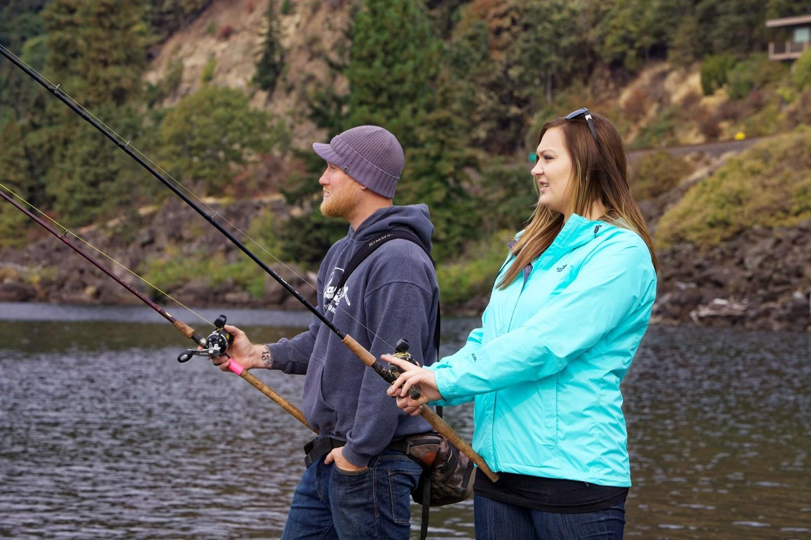 Cuplu la pescuit