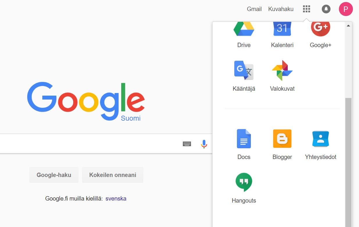 Google Tili Ikäraja