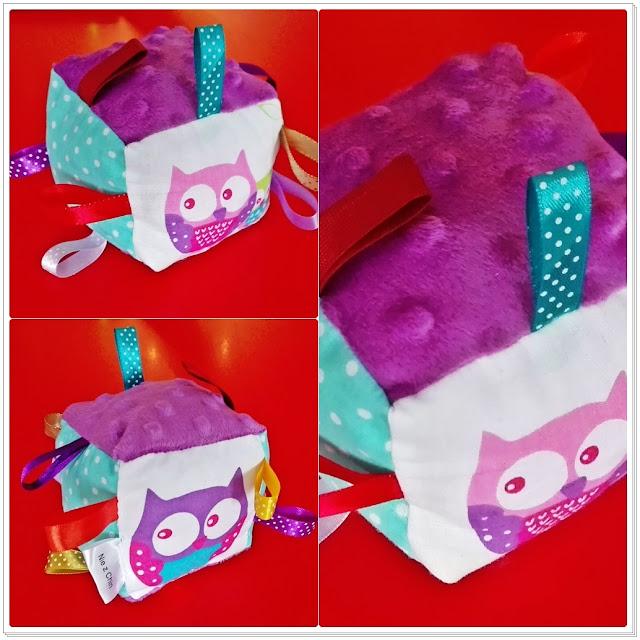 Zabawki sensoryczne w fioletowej odsłonie
