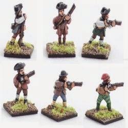 AWA5 Militia, firing line.