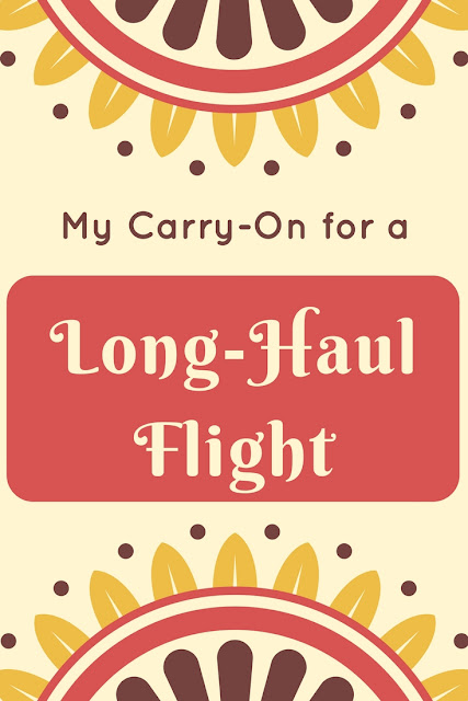 Carry-On for Long Haul Flight