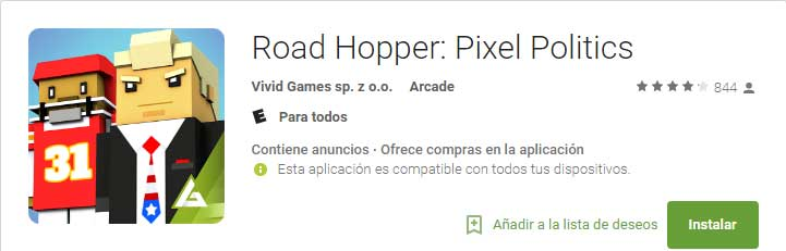 Road Hopper: Pixel Politics
