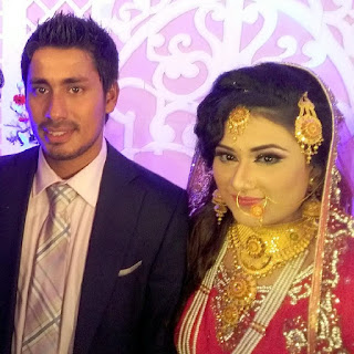 Bangladeshi Cricketer Mohammad Ashraful And His Wife Anika Taslima Orchi HD Photos