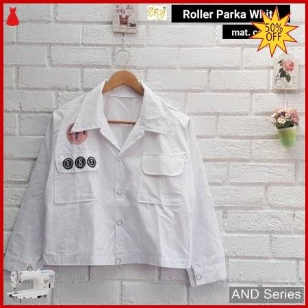 AND338 Jaket Wanita Roller Parka Putih BMGShop