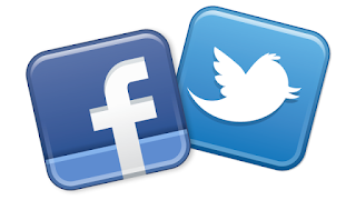 facebook and twitter image