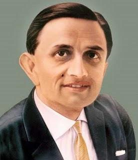 Vikram Sarabhai- ( ఆగస్టు 12, 1919- ౩౦ డిసెంబర్ 1971)-భారత అంతరిక్ష రంగ పితామహుడు విక్రమ్ సారాభాయ్