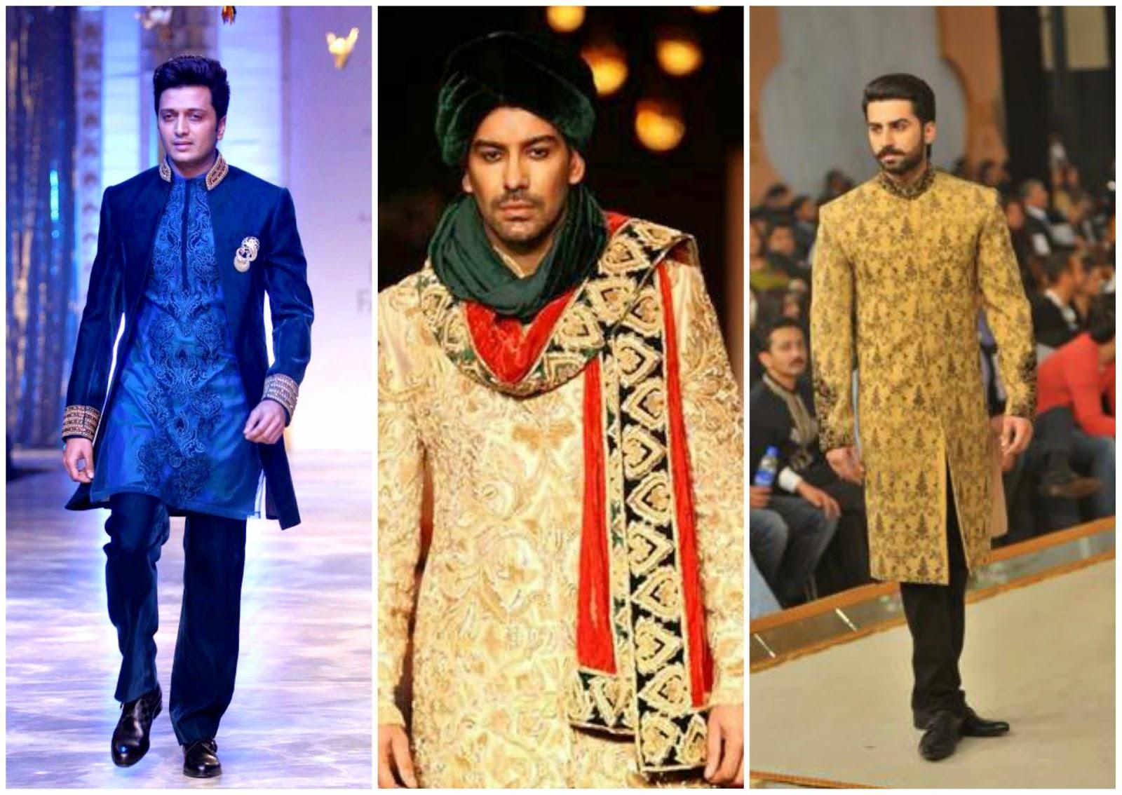 Designer wedding sherwani, ritest deshmukh in sherwani, bollywood sherwani styles